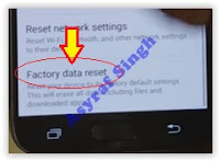 Samsung Galaxy S7 - factory data reset