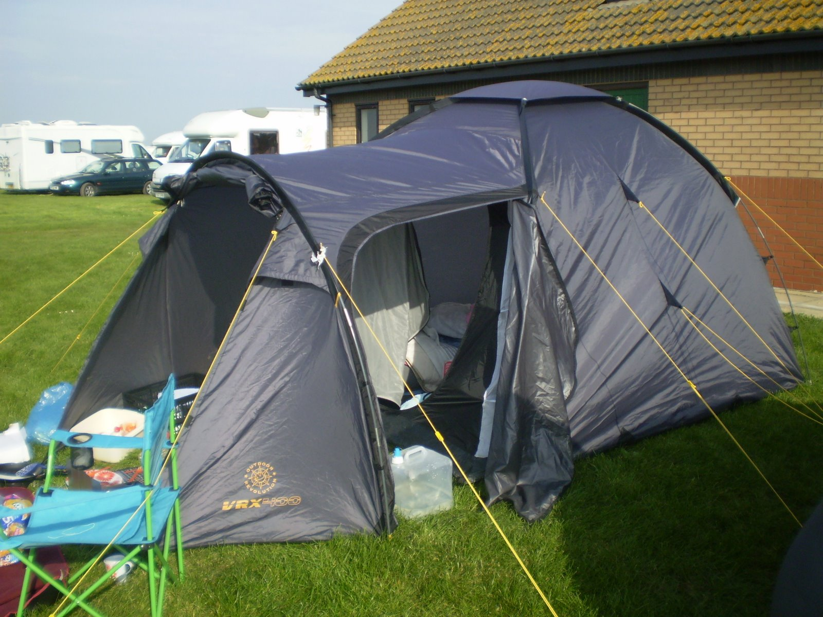 nylon dome tent sleeps three 3