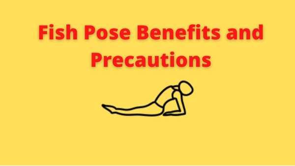 Matsyasana benefits and precautions