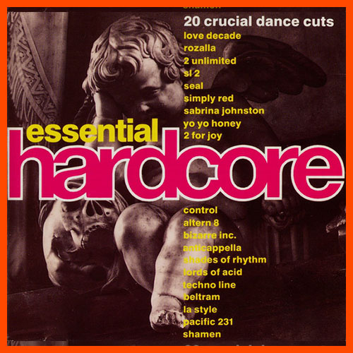 Essential Hardcore CD cover