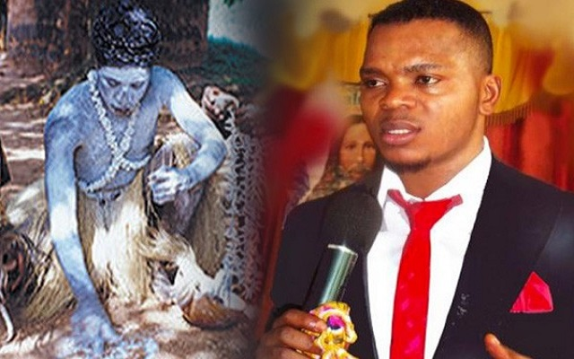 [Video] Bishop Obinim Challenges Okomfo Yaw Appiah For Killer Fight