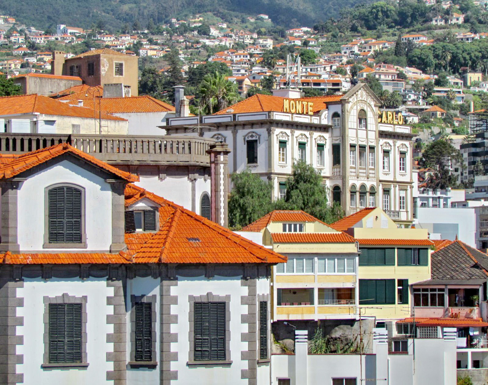 old hotels in Funchal