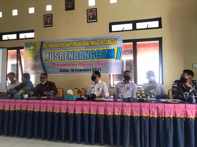 Anggota DPRD Natuna Dapil III hadiri Musrenbang Tingkat Kecamatan Pulau Tiga
