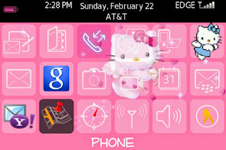 Cartoon BlackBerry Themes Free Download