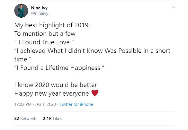 I found true love in 2019 – Nina Ivy reveals