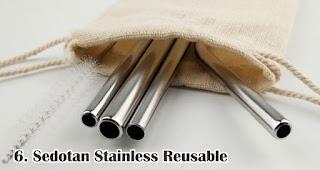 Sedotan Stainless Reusable merupakan salah satu pilihan isian hampers menarik untuk awal tahun