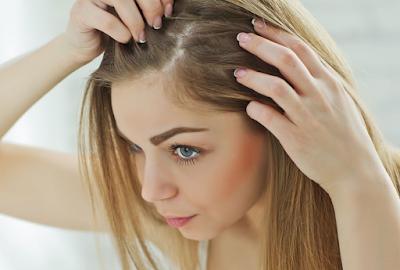 وصفات لتكثيف الشعر من الامام