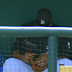 Tigers OF Steven Moya breaks in glove with hammer (Video)