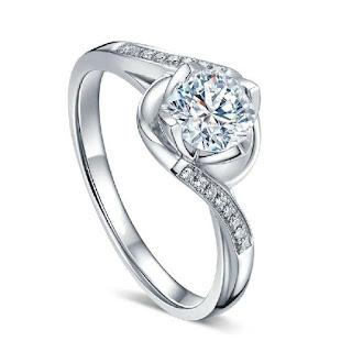 cincin tunangan warna biru
