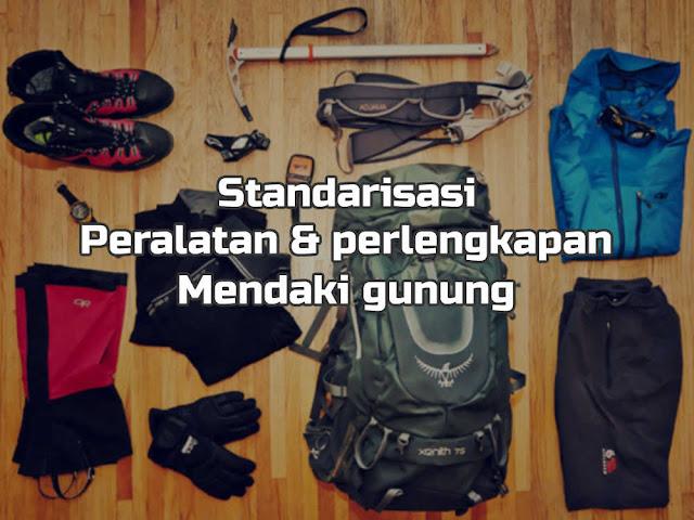 Standarisasi Pendakian