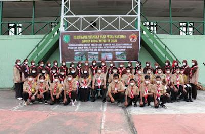 Kodim 0106/Ateng Buka Perkemahan Pramuka Saka Wira Kartika