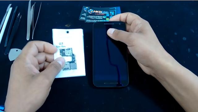 Aprenda como Desmontar os aparelhos Motorola Moto G 3° Geração XT1543, XT1544, XT1550.