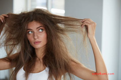 8 Cara Mengatasi Rambut Kering, Mengembang, Kering dan Kasar Secara Alami