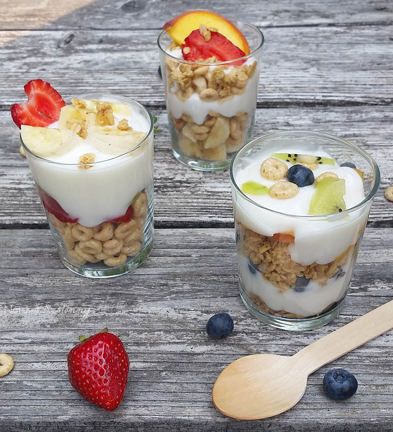 Have breakfast fun with parfaits