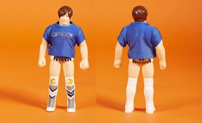 Kota Ibushi Kamigoe Blue T-Shirt Edition Vinyl Figure