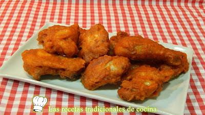 Pollo frito con tempura