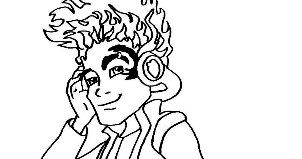 Free Printable Monster High Coloring Pages: Holt Hyde