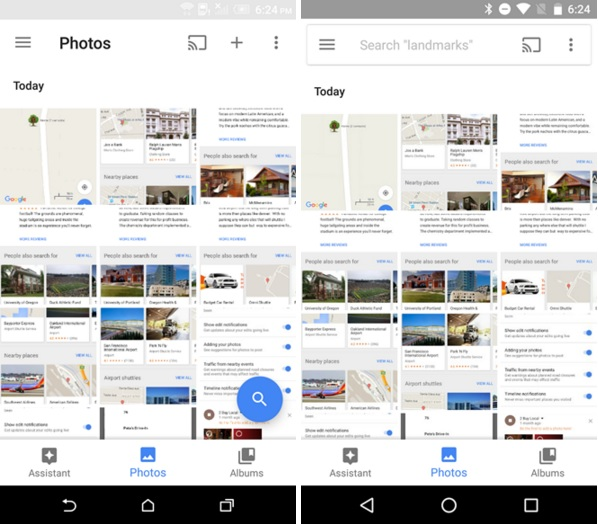 Google Photos V1.19 APK Update with Better SD card and Folder Management & Bunch of UI Tweaks