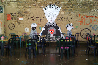Sunday Street Art : Fred le Chevalier - place Fréhel - Paris 20