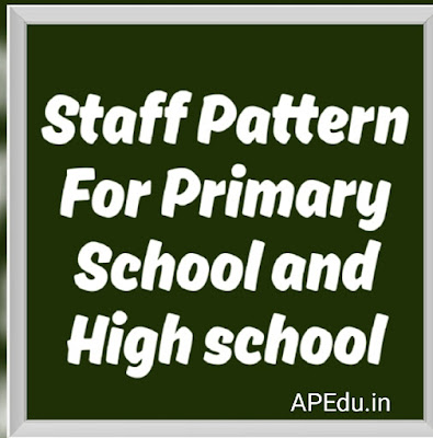 Staff Pattern For Primary School and High school