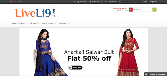 Liveli9 For online Shopping Lovers | Liveli9.com