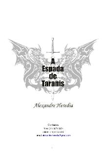 A ESPADA DE TARANIS - Alexandre Heredia