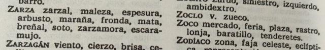 Palabras y términos botánicos y fúngicos que empiezan por la letra Z