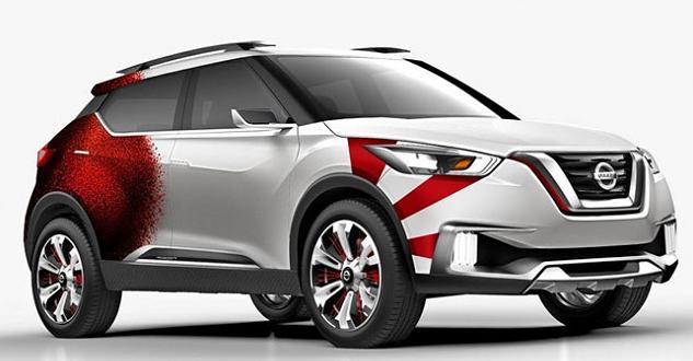 Nissan Kicks Redesign
