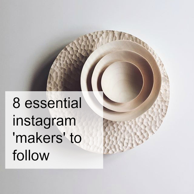 Instagram , My favourite makers to follow, hello peagreen, craft, makers