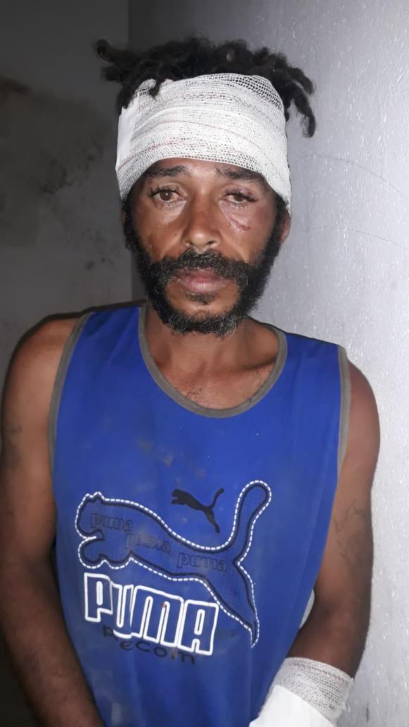 Elemento é preso em flagrante arrombado casa no bairro de Capoeiras em Cajazeiras