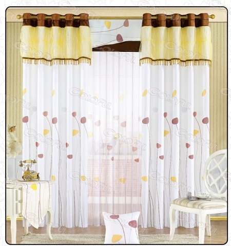 Modern Living Room Curtains Design Contemporary