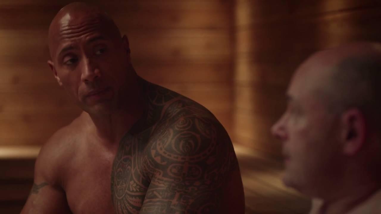 Andrea De Castro Desnuda series] 'ballers' (temporada 5): the rock se desnuda para la