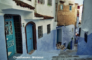 Chefchaouen Morocco blue