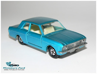 Matchbox, ford cortina sur miniature-ford.be
