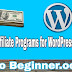 Best Affiliate Programs for WordPress Niche