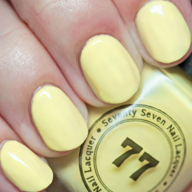 Seventy-Seven Nail Lacquer Pineapple of My Eye