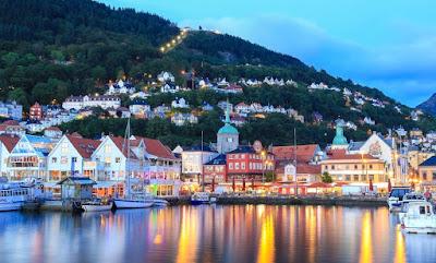 Kota Bergen Norwegia