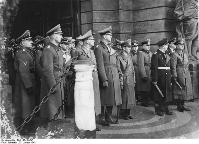 Funeral of Field Marshal von Reichenau, 23 January 1942 worldwartwo.filminspector.com