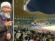 16 Non Muslim Bersyahadat Saat Dr Zakir Naik Ceramah di Bekasi