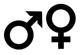 Männlich, weiblich, Symbole