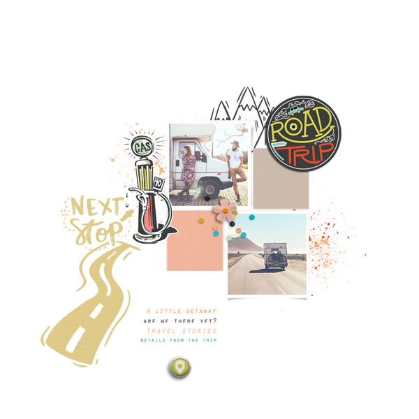 road trip © sylvia • sro 2019 • on the road again by rachel etrog designs & quick scraps templates vol 04 by anita designs