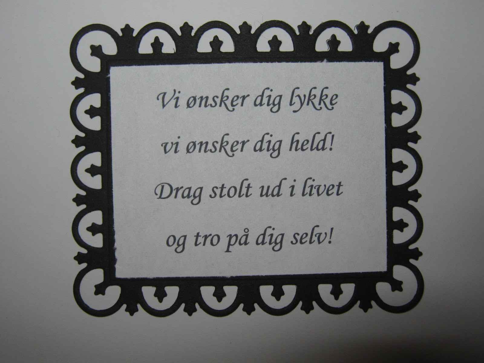 digt til konfirmation tekst