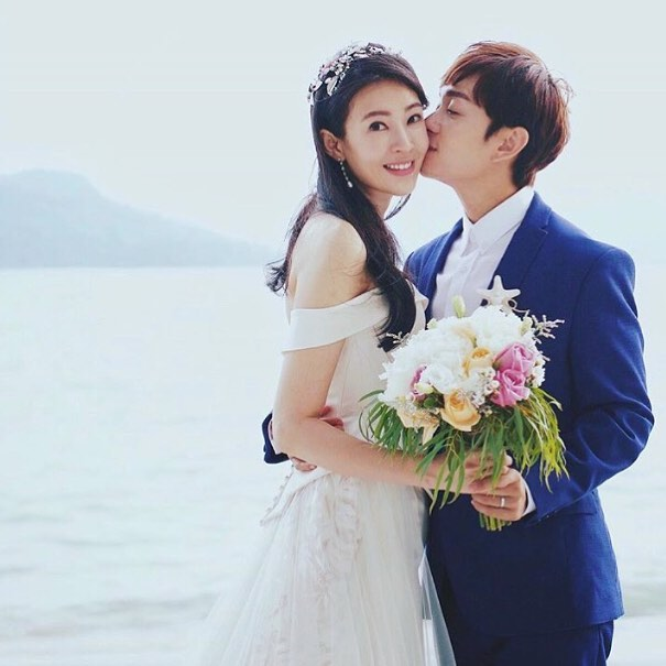 Local celebrity couple Jesseca Liu (刘子绚 liú zi xuàn)  and Jeremy Chan (田銘耀 Tián míng yào) tied the knot in the former's hometown of Langkawi on Sunday, according to a press statement.