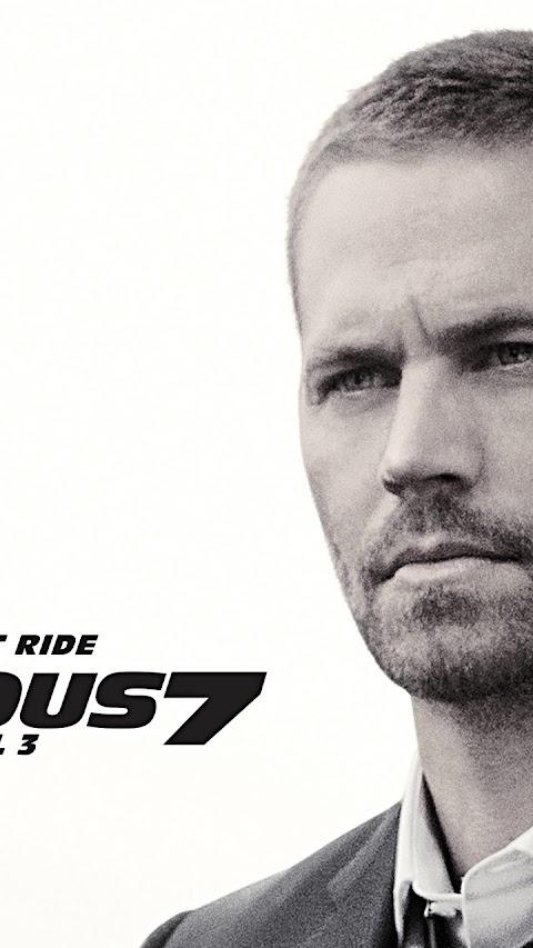 Furious 7-2015 Paul Walker