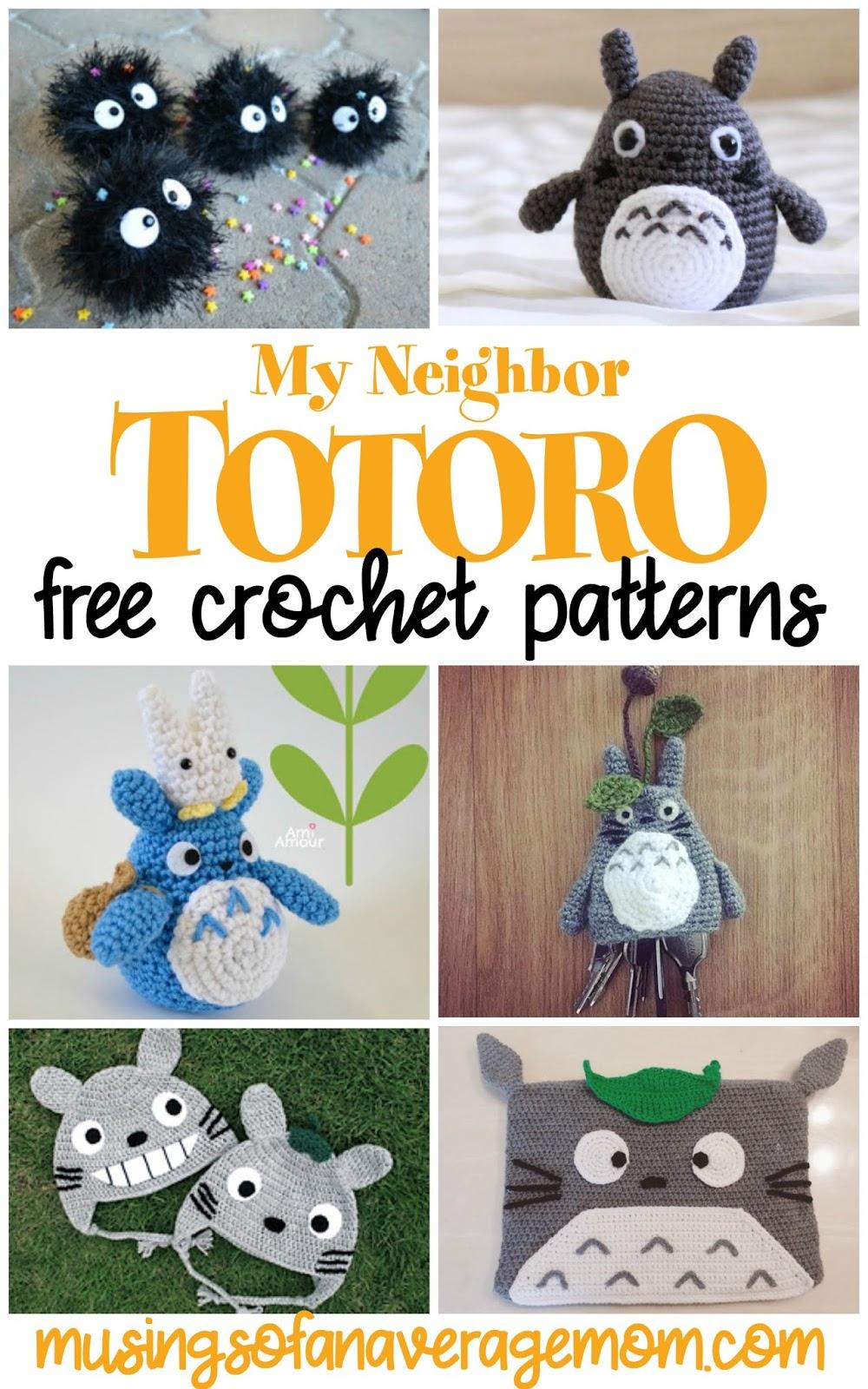 Ravelry: Grey Totoro Amigurumi pattern by Lucy Collin | 1600x1000