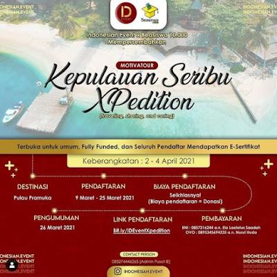 MotivaTour: Kepulauan Seribu Xpedition