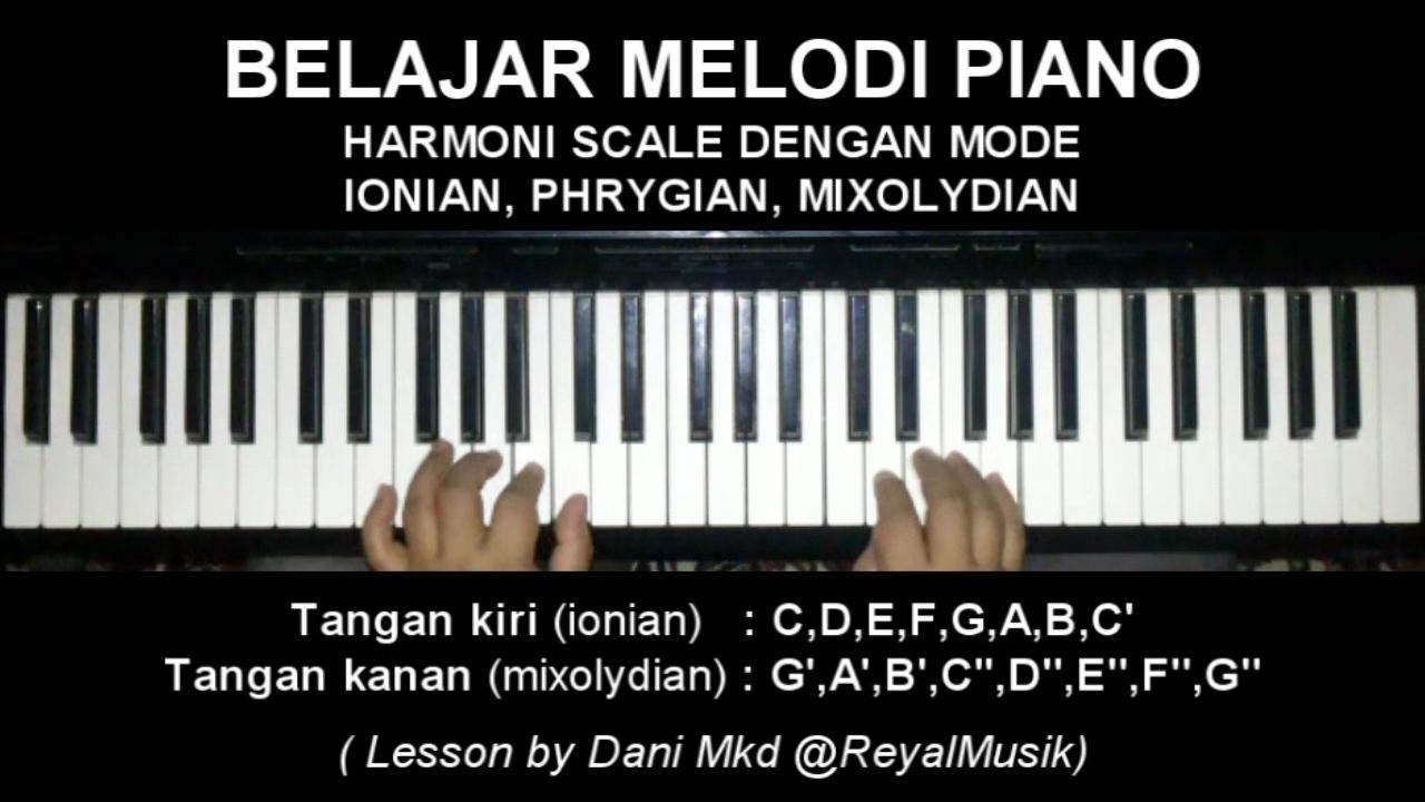 Belajar Melodi Piano Keyboard