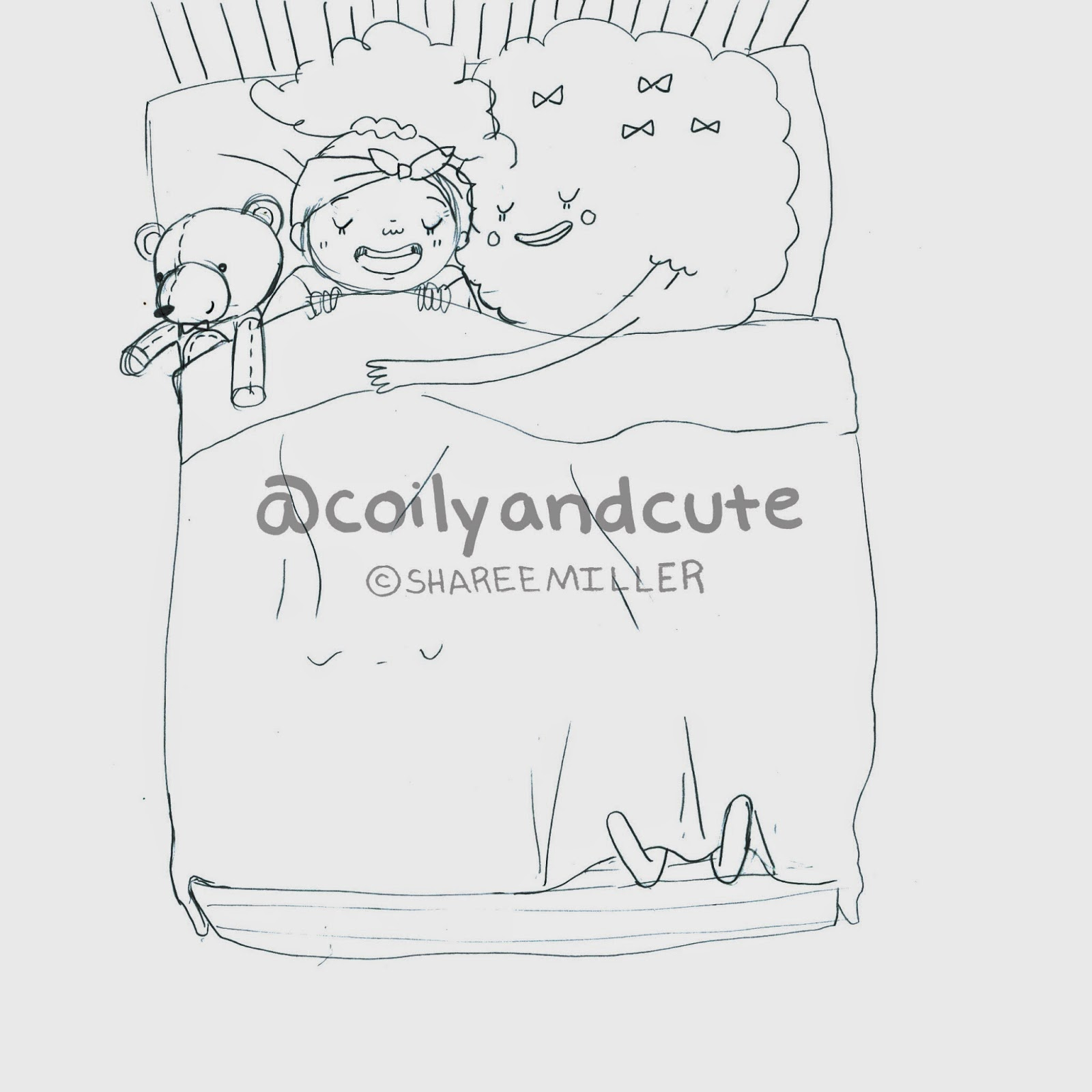 Coily and Cute: My imaginary friend FroFro!!