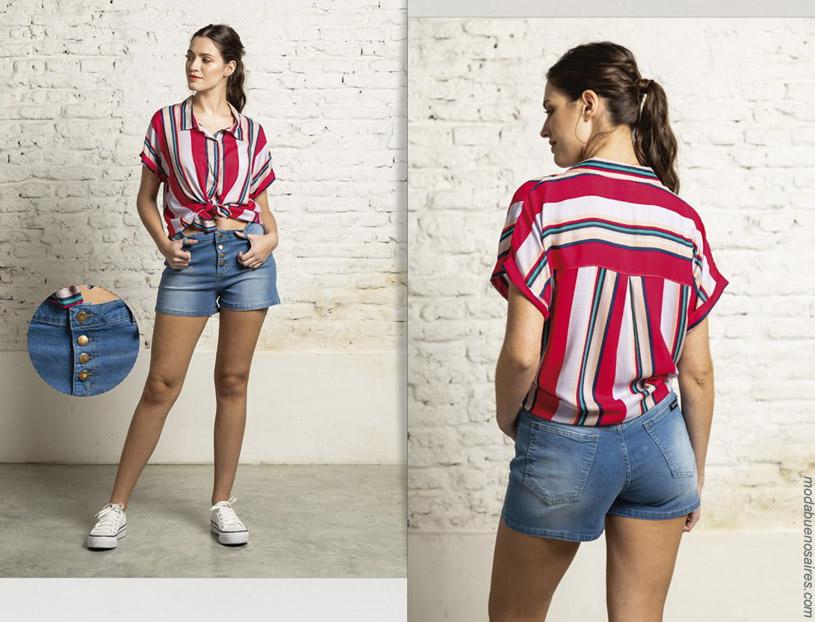 Camisas de mujer primavera verano 2020. Moda mujer primavera verano 2020.