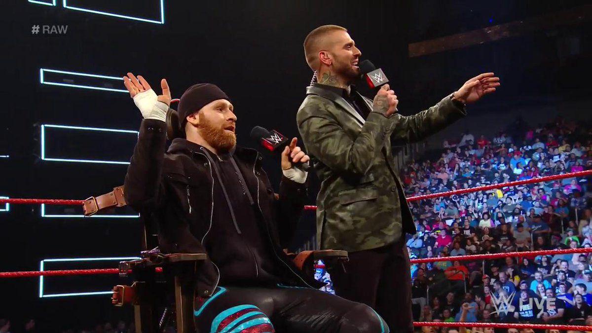 Sami Zayn revela qual foi a reação nos bastidores quando ele citou a AEW no WWE RAW